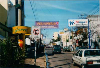 Calle Noguera - Centro comercial
